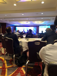Attending Hedge Fund Global Compliance Conference