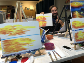 A day in the life of a Loeb Smith artist